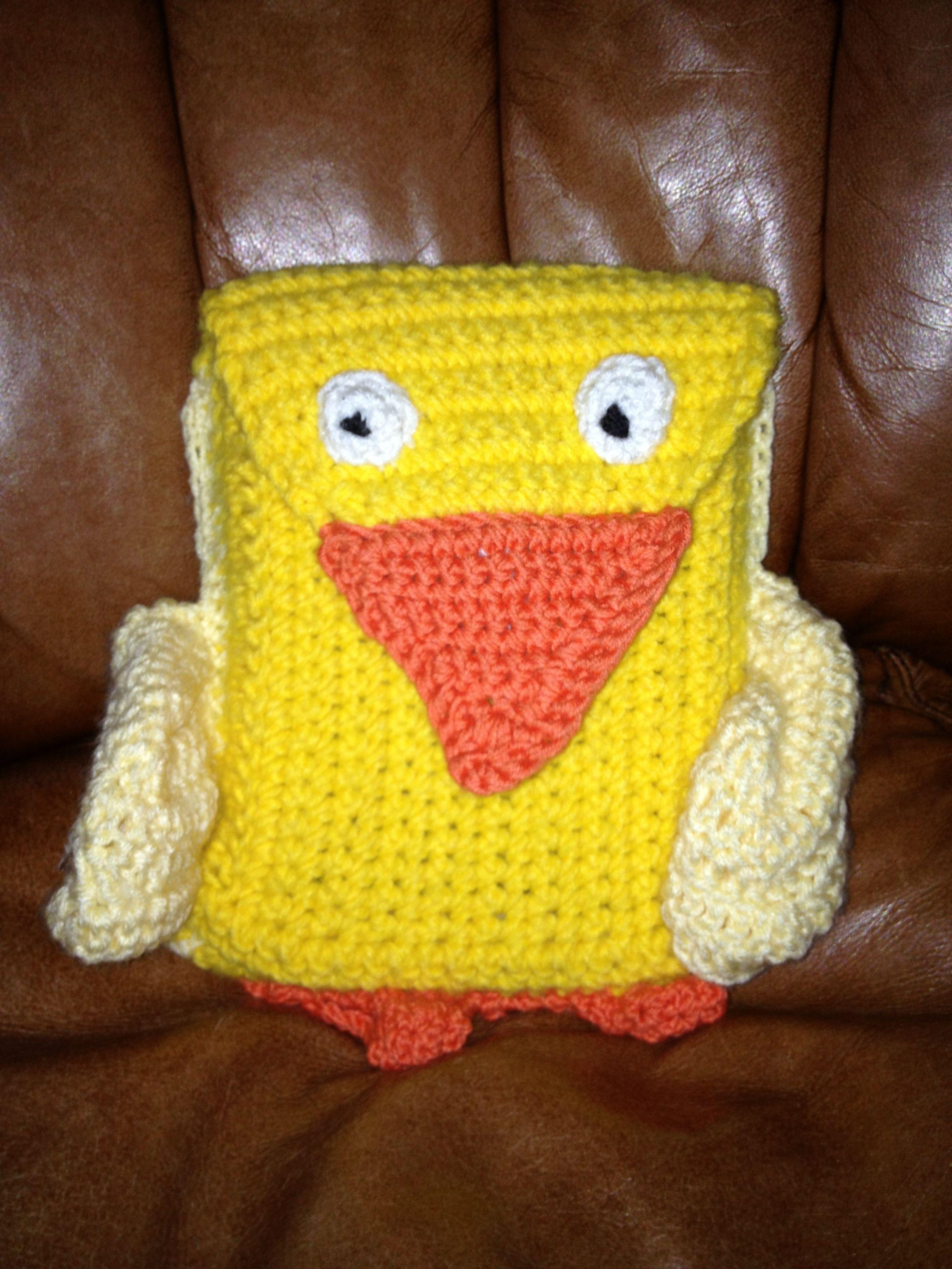 duck Ipad mini case crochet Ipad mini case, Mini case