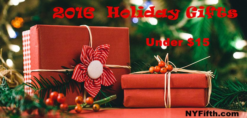 2016 Holiday Gifts Under $15 from NYFifth
