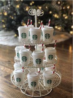 Mini Starbucks Cups