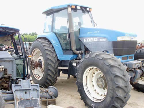 New Holland 8870 tractor salvaged for used parts. This unit is available at All States Ag Parts in Black Creek, WI. Call 877-530-2010 parts. Unit ID#: EQ-24587. The photo depicts the equipment in the condition it arrived at our salvage yard. Parts shown may or may not still be available. http://www.TractorPartsASAP.com