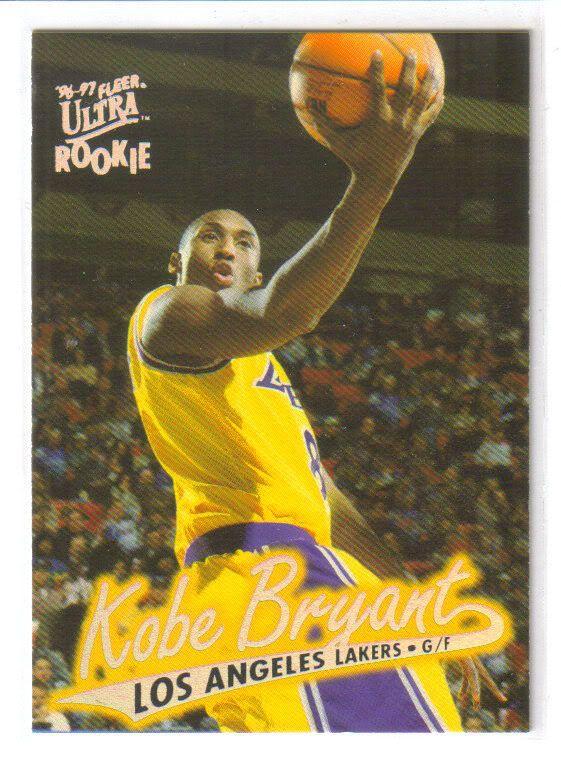 Kobe Bryant Cards Value Thread Kobe Bryant Rookie Card