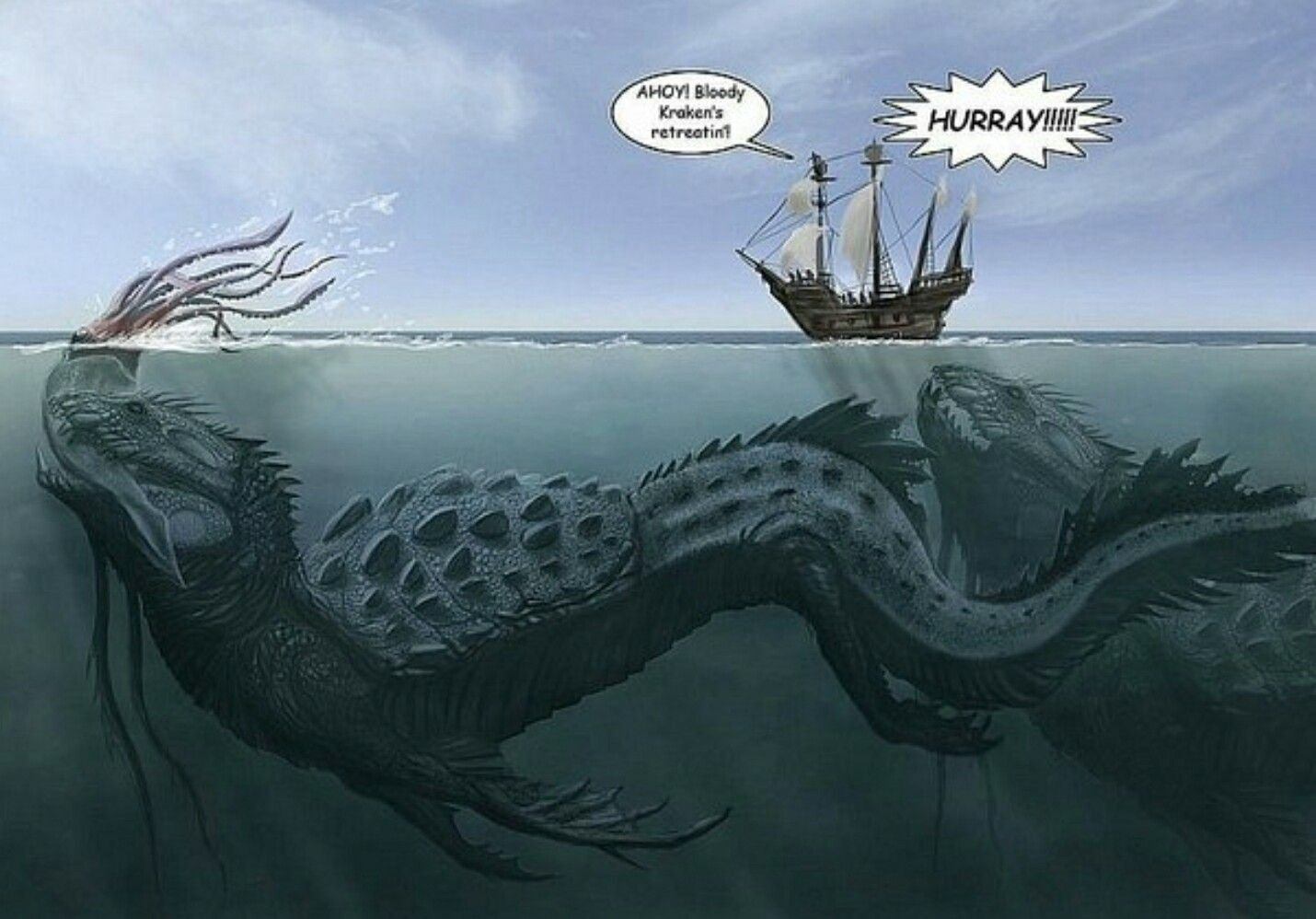 Pin by Kateleen Miado on Mythology Sea monsters, Fantasy