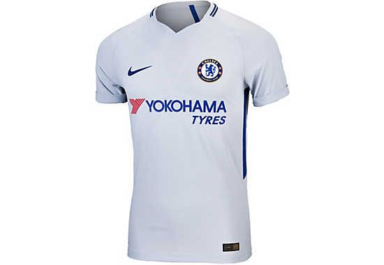 312774c3661 2017 18 Nike Chelsea FC Away Jersey - Authentic Match Version. Buy yours  from SoccerPro today!
