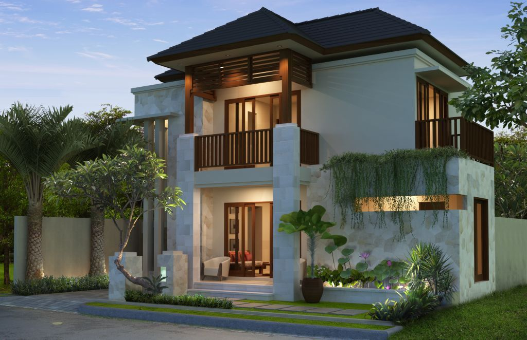 Image Result For Rumah Kampung Moden Simple House Design House Designs Exterior Minimalist House Design