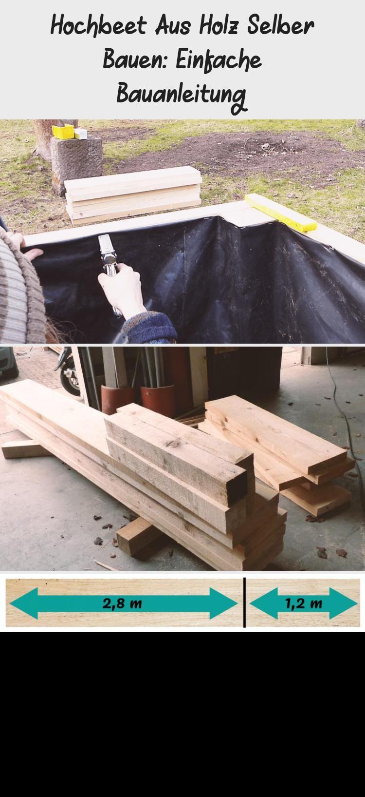 Hochbeet Aus Holz Selber Bauen Einfache Bauanleitung In 2020