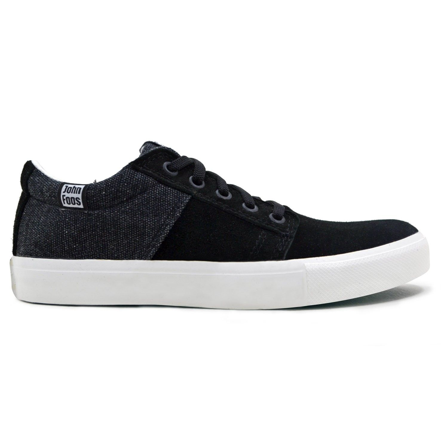 4bbf9ed4f28 John Foos 176 Meet Black Zapatillas