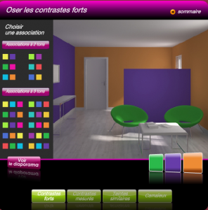 Simulateur Pour Association De Couleur Peinture Et Couleur Deco