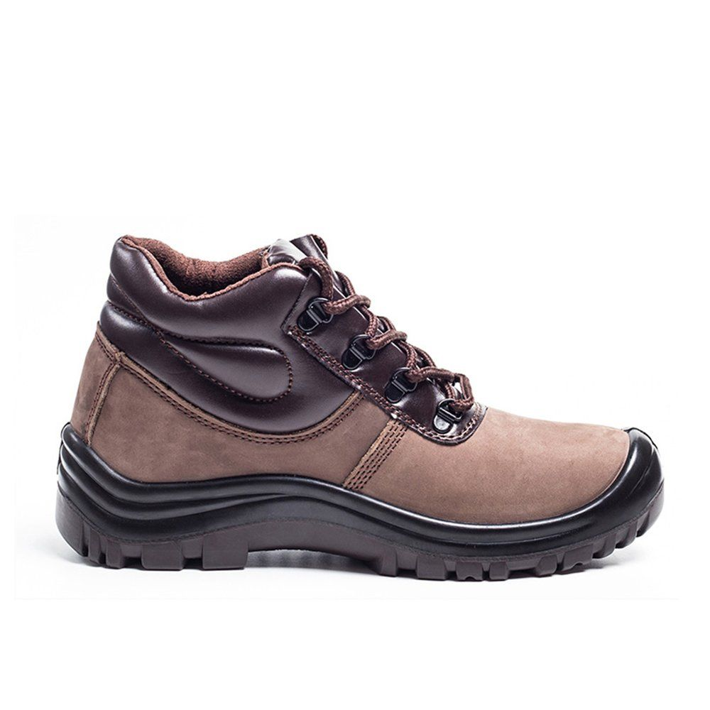 durable leather plastic steel toe work shoes puncture