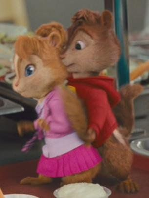 Alvin And Brittany Alvin And The Chipmunks Chipmunks Baby Chipmunk