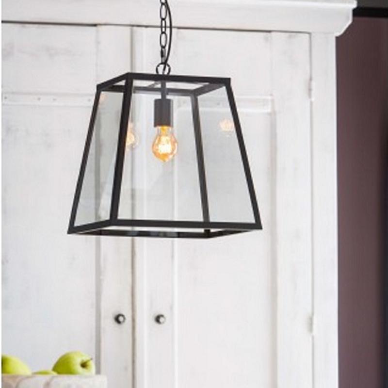 Saunte Hanging Lamp Black Lantern Pendant Lighting Pendant Light Black Pendant Light