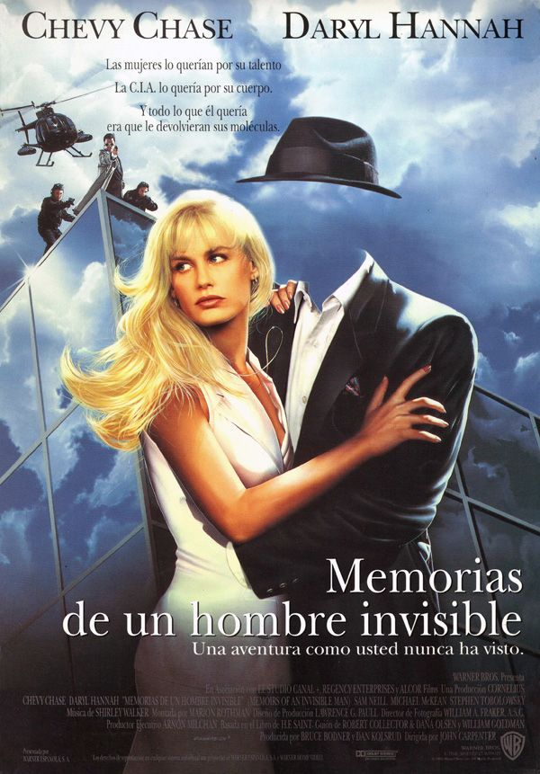 Memorias de un hombre invisible 1992
