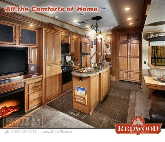 Redwood Rvs More Than Camping Rv Interior Rv Living Small Spaces