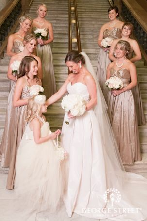rosegold inspired wedding