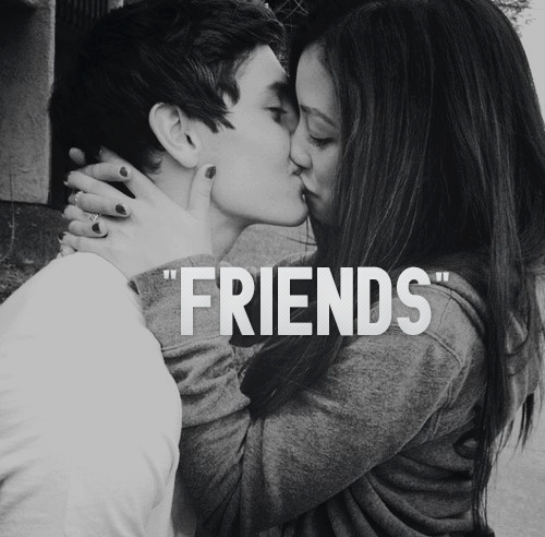 Pin by Annabeth on All the Lawlz | Just friends, Friends with benefits,  Tumblr couples