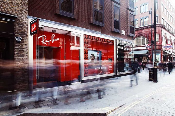 836c9caaf79 Ray Ban Concept Store at Covent Garden by PureSang