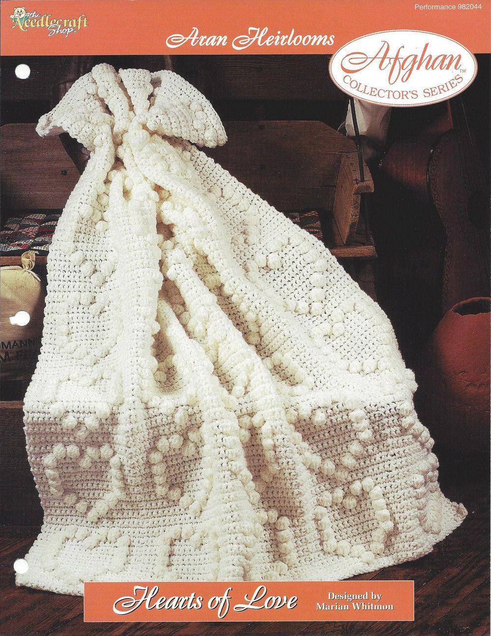 💖 Crochetar Coração Afegão Padrão Decoração de Casa itens decorativos Criações -  /  💖  Crochet Heart Afghan Pattern Home Decor Knacks Creations -