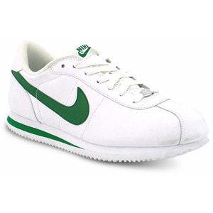 Journeys Shoes: Mens Nike Cortez - White/Green   Nike cortez ...