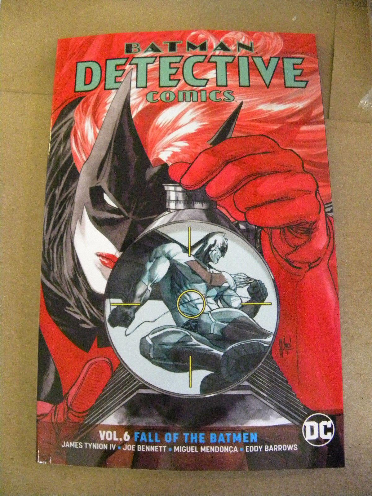 Dc Universe Rebirth 2018 Batman Detective Comics Vol 6 Fall