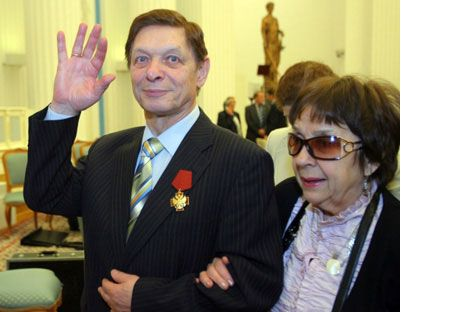 """A forgotten hit from the 1970s – the lyricless song """"I'm very happy to be coming home at last"""" – performed by Soviet-era pop singer Eduard Khil has unexpectedly become a supermeme on YouTube, and Eduard Anatolyevich Khil himself was known as Mr Trololo. More than 2 million views, fans all over the world, and a petition asking him to go on tour as soon as possible."""