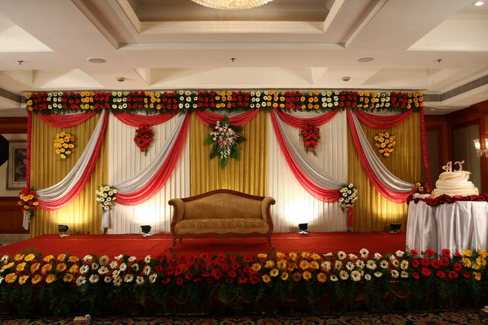 wedding planners check here latest wedding stage On latest wedding hall decoration