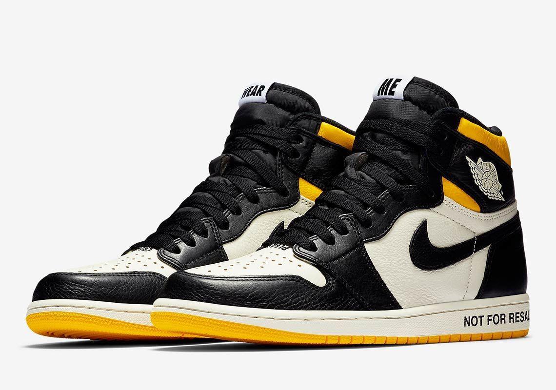 """Air Jordan 1 Retro High OG """"Not For Resale"""" Men's Shoe"""