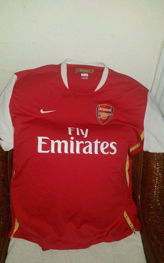 743be58b9 Nike England Arsenal Fc Gunners Soccer Jersey size XXL Men s ...