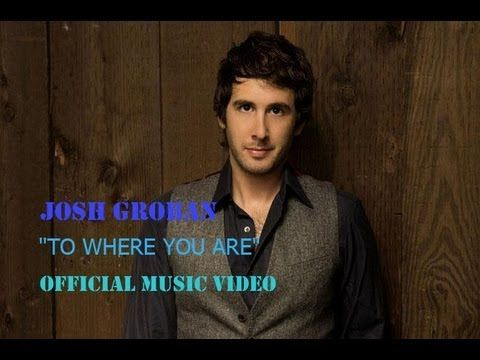 Josh Groban - To Where You Are [Official Music Video]
