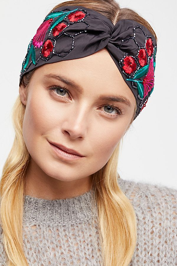 Slide View 1  Lory Embellished Turban Diy Headband d3555362906