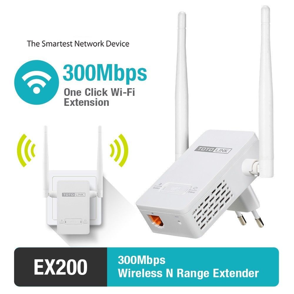 WiFi Genius Long Range Extender Wireless Booster Router Repeater