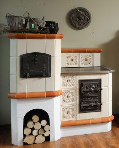Pin By Kominki Godzic On Kominki Ceramiczne I Piece Kaflowe Cottage Kitchens House Design Kitchen Small Apartment Kitchen