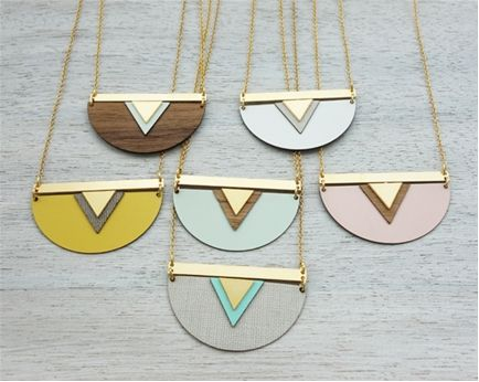 Shlomit Ofir Greenland Necklace inspired by Scandinavian design