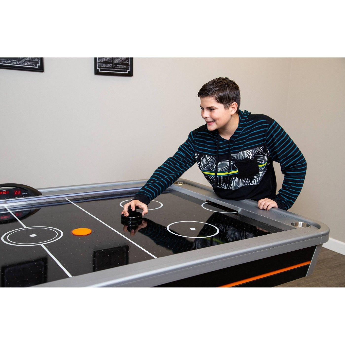 Hathaway Trailblazer 7' Arcade Level Air Hockey Table with