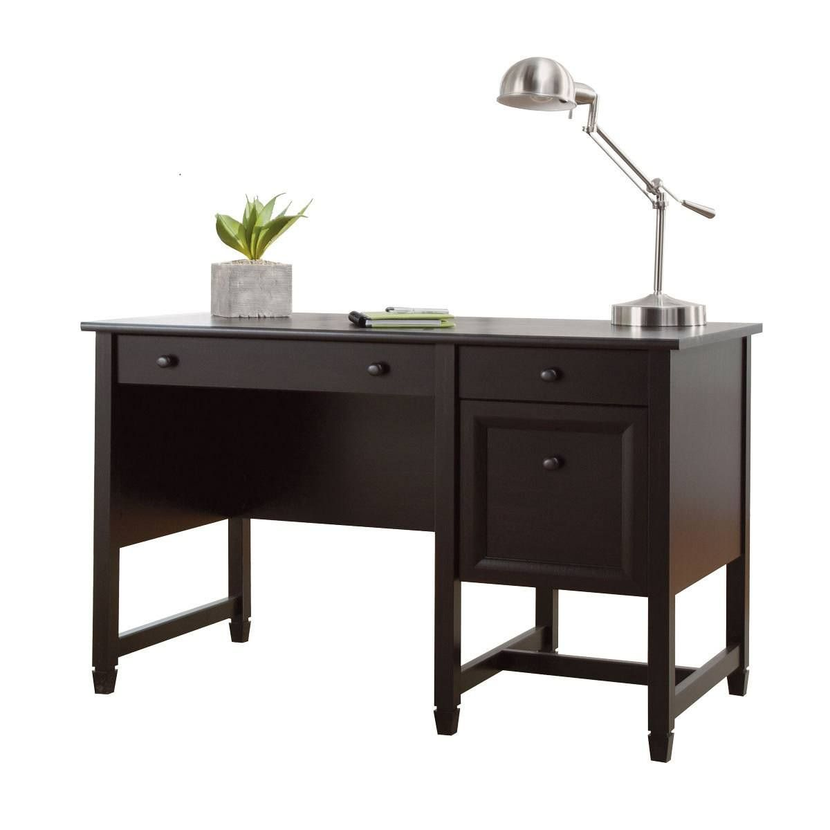 99+ Sauder Executive Trestle Desk - Contemporary Home Office ...