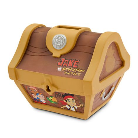 Jake Treasure Chest bank. We could keep this one on his dresser ...