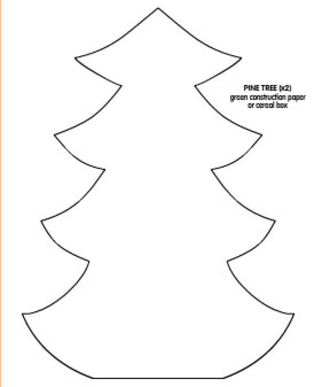 Free, Printable Christmas Tree Templates In All Shapes And Sizes   Free  Christmas Tree Templates  Free Christmas Tree Templates