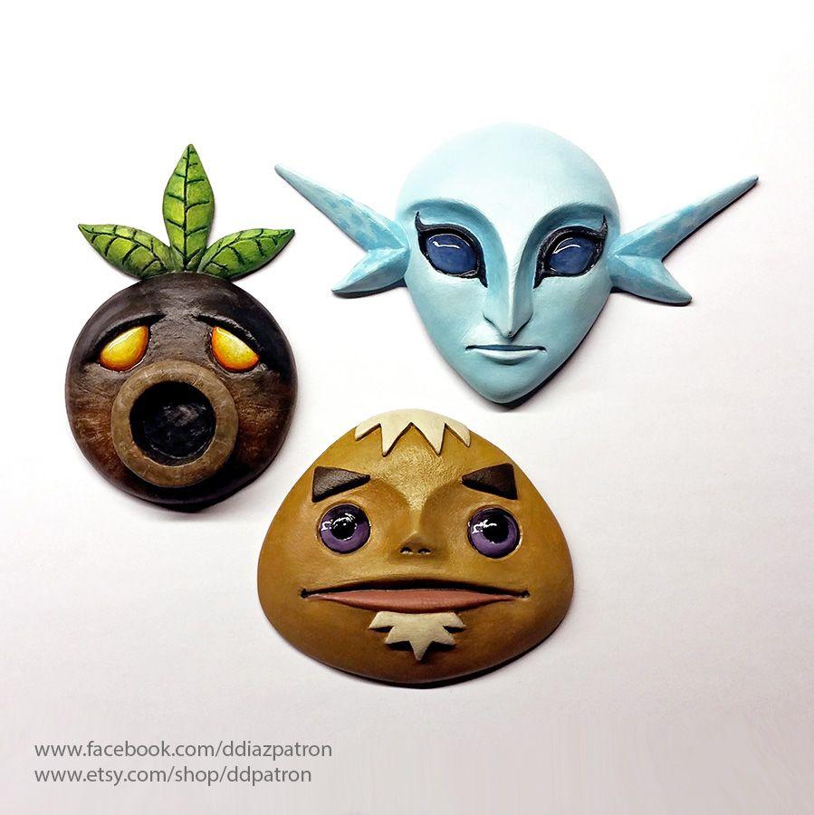 Deku Goron And Zora Masks The Legend Of Zelda Majora S Mask