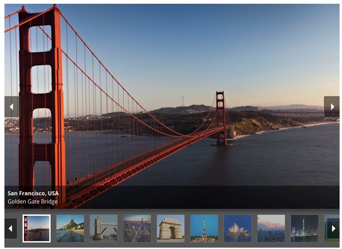 jQuery Gallery Plugins For Showcasing Images Better