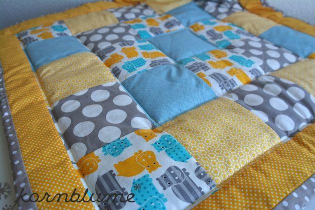 die besten 25 krabbeldecke patchwork ideen auf pinterest patchworkdecke n hen baby. Black Bedroom Furniture Sets. Home Design Ideas