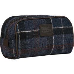 Bolsas de aseo y bolsas de aseo – Bolsa de aseo Barbour Hombre, Algodón, Azul Barb …