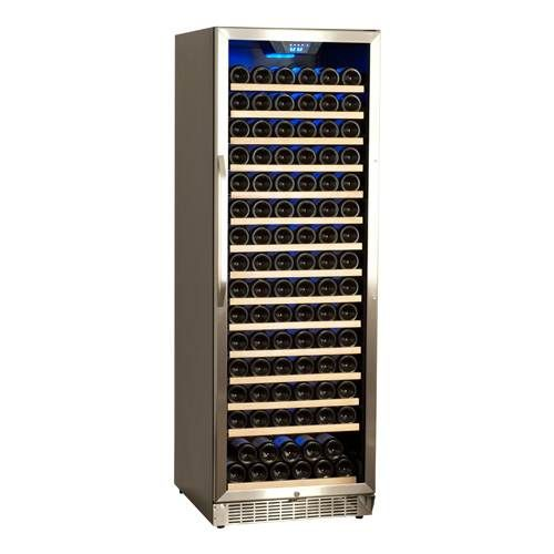 166 Bottles One Temp Setting Not Much Complaints About Noise Level Edgestar 166 Bottle Wine Cooler With Images Wine Refrigerator Built In Wine Cooler Wine Cooler