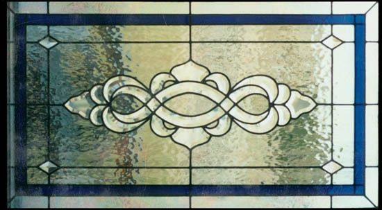 Traditional stained glass transom stained glass designs for Long windows for sale