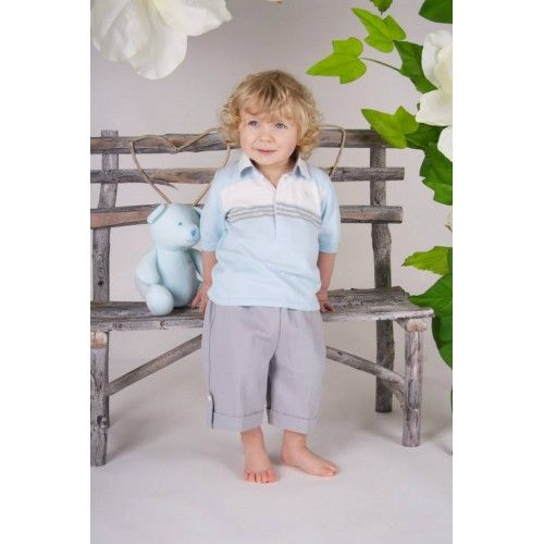 *NEW SS14* Emile et Rose Boys Knit Top and Short Set