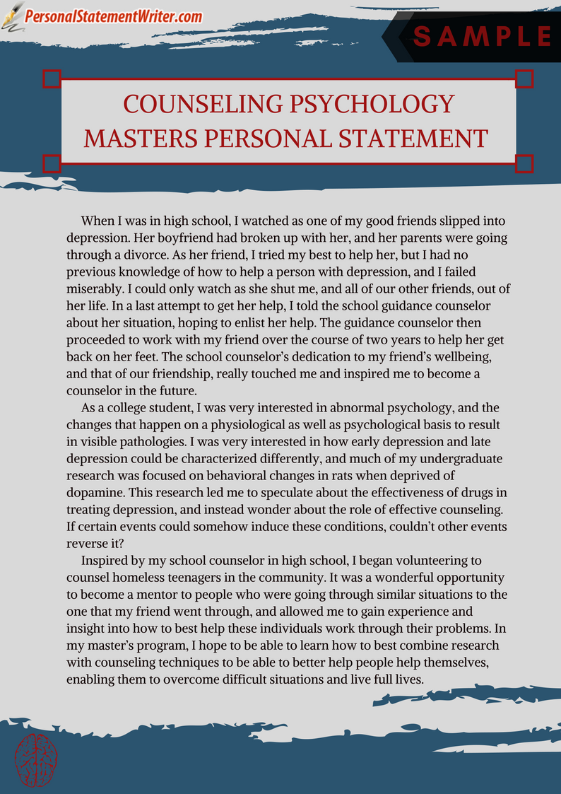 Pin By Erica Adxenurcess1979 On The College App Essay In 2020 Personal Statement Grad School Examples Forensic Psychology Sample