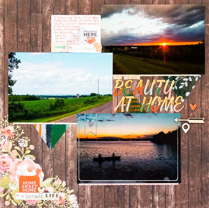 """Scrapbooking Ideas for Making Pages with 4""""x6"""" Photos   Marcia Fortunato   Get It Scrapped"""