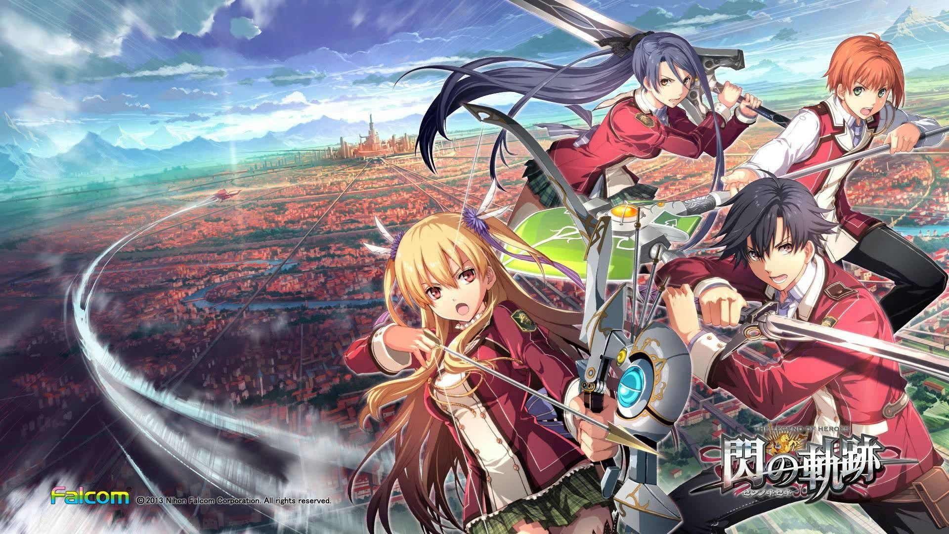The Legend Of Heroes Trails Of Cold Steel Wallpaper Hd With