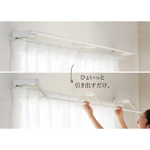 物干し 突っ張り棒 物干し 浴室用ステンレス 超強力伸縮棒 Ysp 190