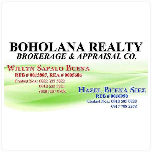 BOHOLANA REALTY BROKERAGE & APPRAISAL CO. OFFICE ADDRESS