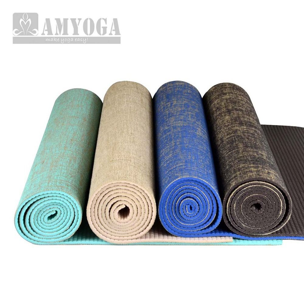 Organic Jute Yoga Mat Nature Yoga Mat In Yoga Mats From Sports Entertainment On Aliexpress Com Yoga Mat Natural Yoga Mat Jute