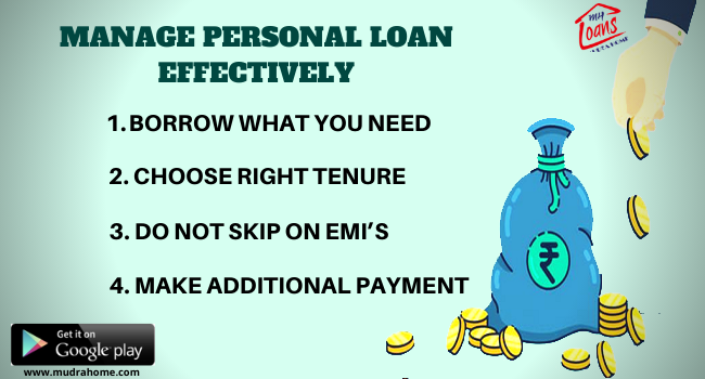 Manage Personal Loan Effectively Mudrahome Compare Apply Best Rate Of Interest From Various Bank S Nbfc S Unsecured Loans How To Apply The Borrowers