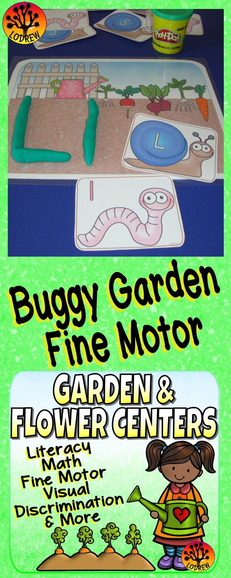 Garden Centers Spring Activities Flowers Literacy Math Fine Motor ...
